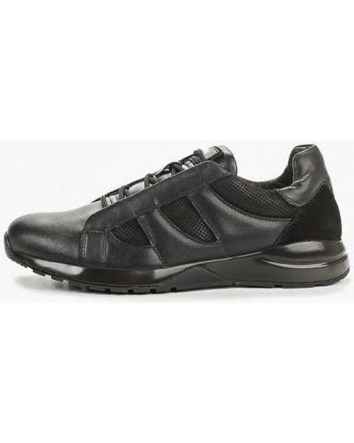 Кроссовки черные из нубука Id! Collection