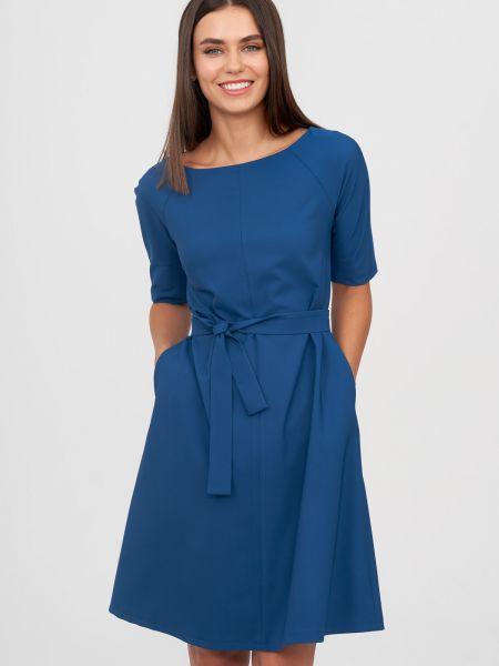 Повседневное платье - синее Natali Bolgar
