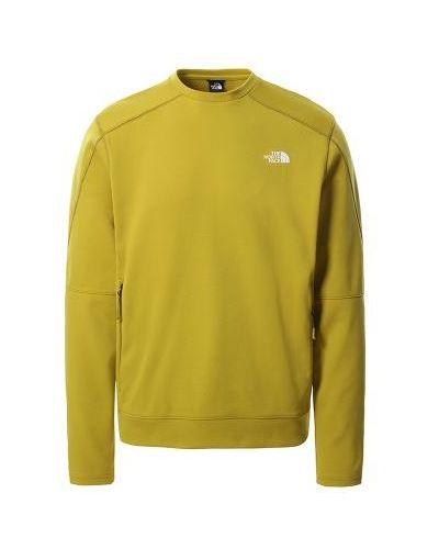 Żółty sweter dzianinowy The North Face