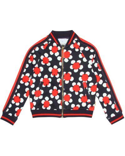 Куртка леопардовая с цветочным принтом Little Marc Jacobs