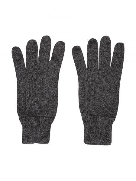 Ciepłe czarne rękawiczki materiałowe Mountain Warehouse