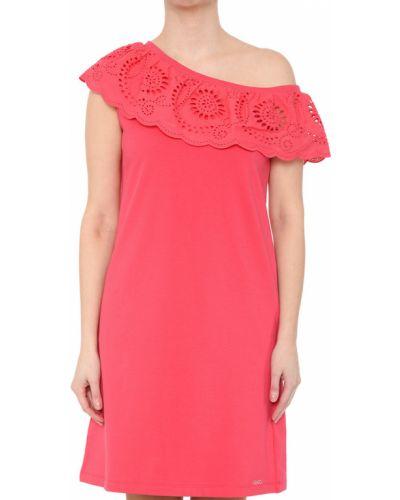 Платье весеннее розовое Liu Jo