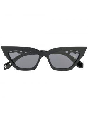 Czarne okulary z printem Off-white