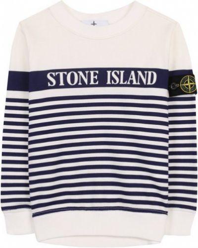Свитер в полоску хлопковый Stone Island