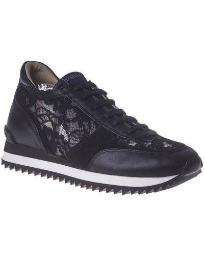 Кроссовки черные Le Silla