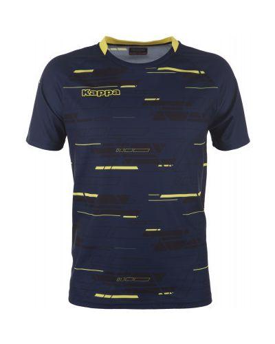Синяя спортивная футболка Kappa