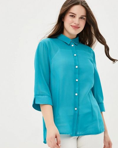Бирюзовая блузка Fresh Cotton