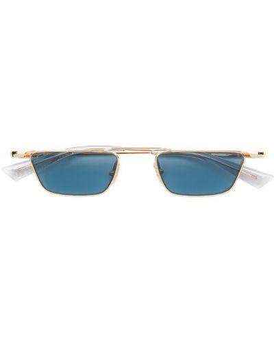 Прямые муслиновые желтые солнцезащитные очки прямоугольные Christian Roth