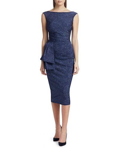 Приталенное платье миди без рукавов с драпировкой Chiara Boni La Petite Robe