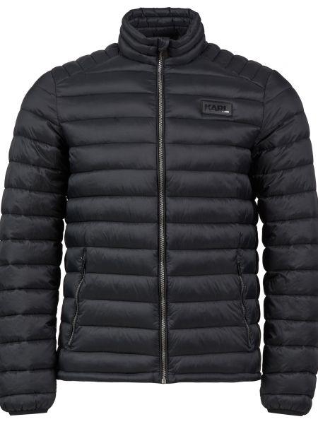 Куртка на молнии - черная Karl Lagerfeld