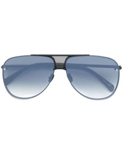 Солнцезащитные очки авиаторы черные Belstaff
