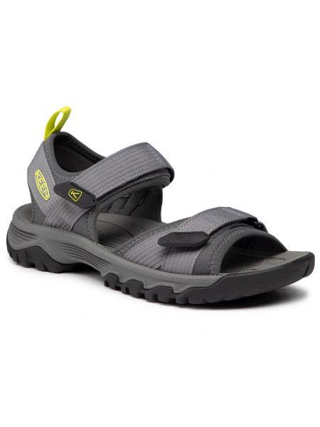 Szare sandały na lato Keen