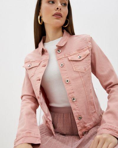 Розовая зимняя куртка Softy