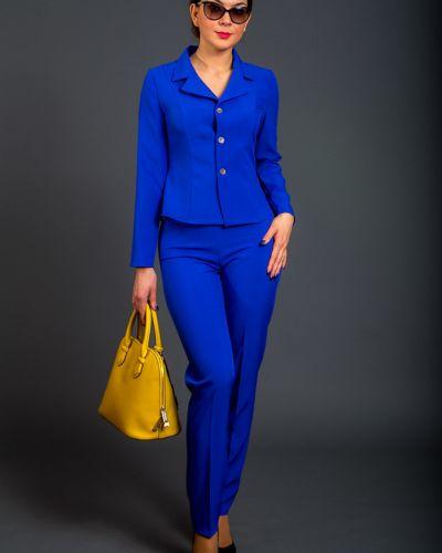 Брючный костюм синий Belirini