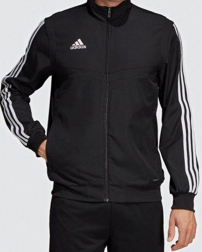 Черная олимпийка Adidas
