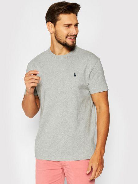 Szary t-shirt Polo Ralph Lauren