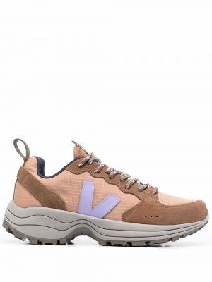 Массивные кроссовки - коричневые Veja