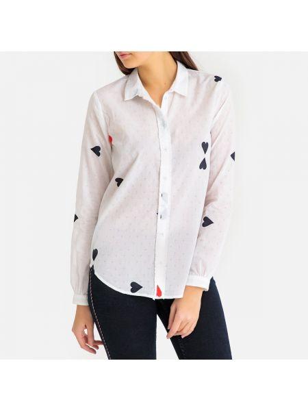 Белая рубашка Maison Scotch