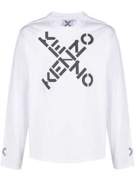 Bawełna z rękawami bluza okrągły Kenzo