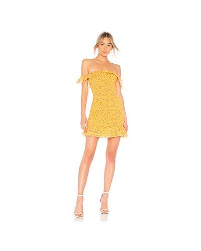 Платье мини футляр облегающее Lovers + Friends
