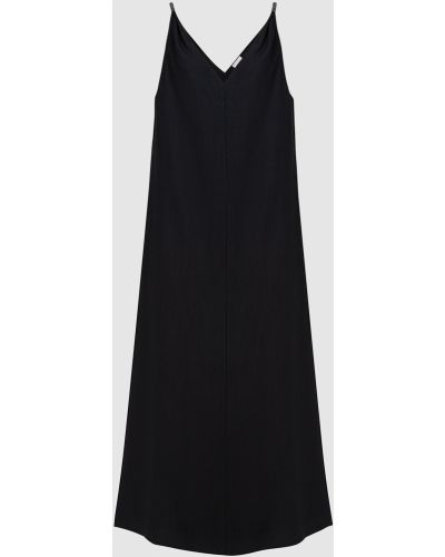 Черное платье макси Brunello Cucinelli