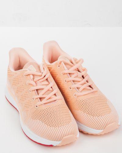 Текстильные розовые кроссовки Baas