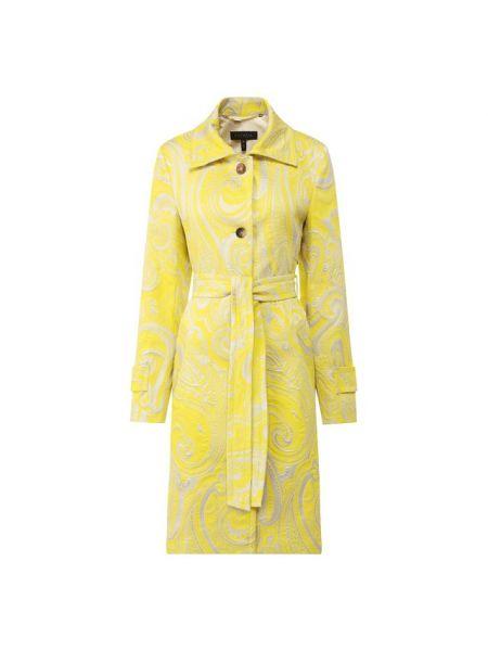 Хлопковое пальто с поясом Escada