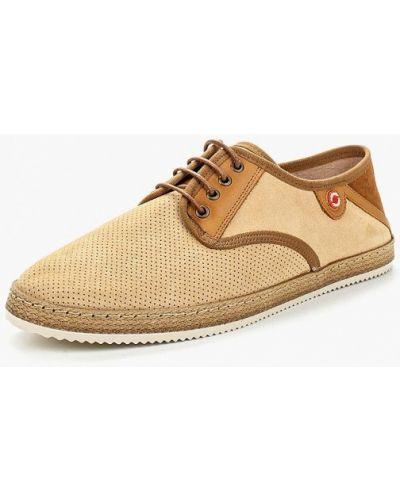 Бежевые туфли Nobrand