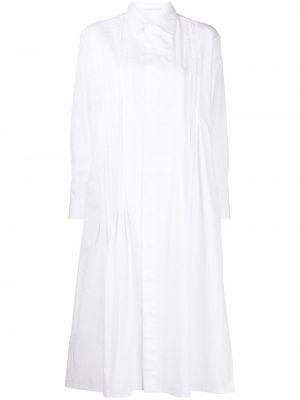 Платье макси длинное - белое Yohji Yamamoto