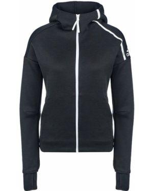 Толстовка с капюшоном черная Adidas Originals