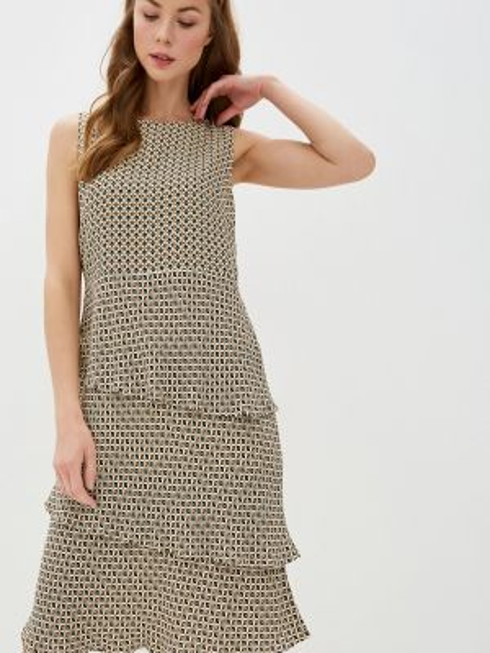 Платье прямое бежевое Gerry Weber