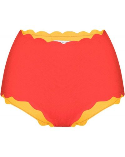 Красный купальник на шпильке Marysia