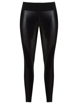 Czarne legginsy z niskim stanem Lygia & Nanny