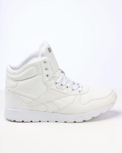 Брендовые белые ботинки Saijun