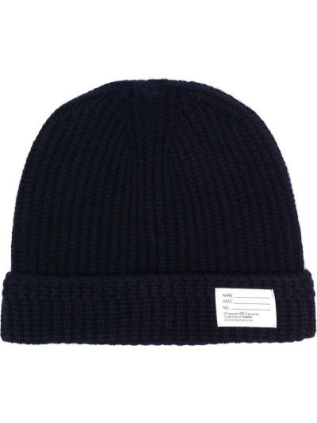 Niebieska czapka wełniana Visvim