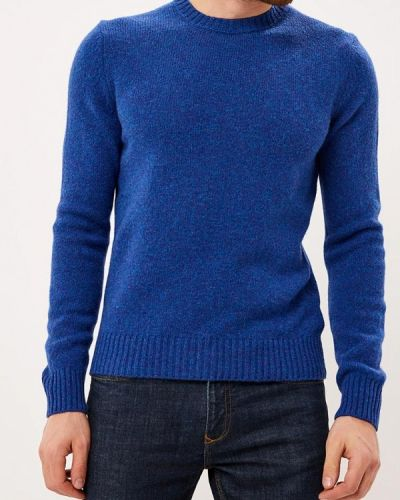 Синий джемпер осенний United Colors Of Benetton