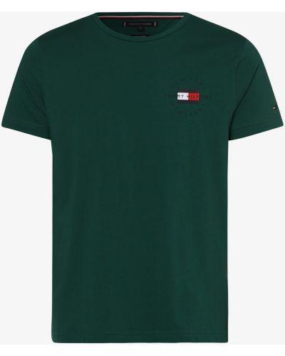 Zielony t-shirt Tommy Hilfiger