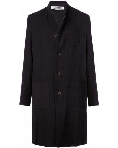 Длинное пальто черное однобортное Individual Sentiments