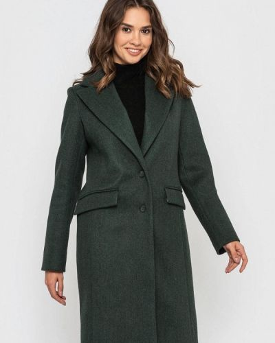 Пальто - зеленое Sfn