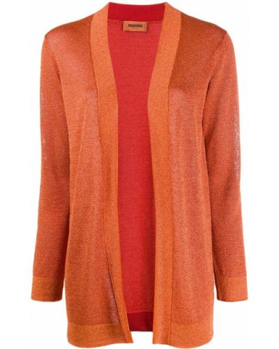 Кардиган длинный оранжевый Missoni