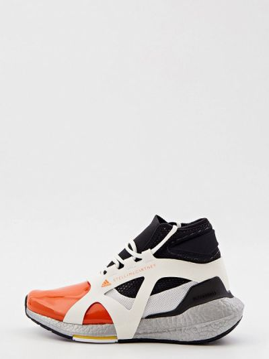 Кожаные высокие кроссовки Adidas By Stella Mccartney