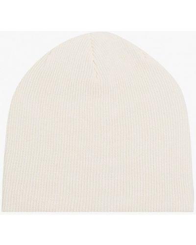 Белая демисезонная шапка Trendyangel