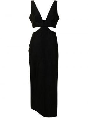 Платье миди - черное Manning Cartell
