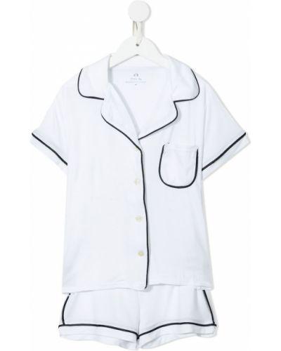 Piżama krótki rękaw - biała Morgan Lane Mini
