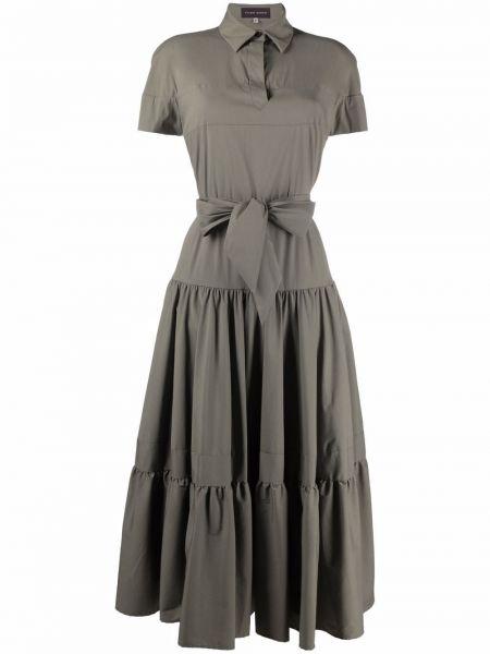 Платье мини короткое - зеленое Talbot Runhof