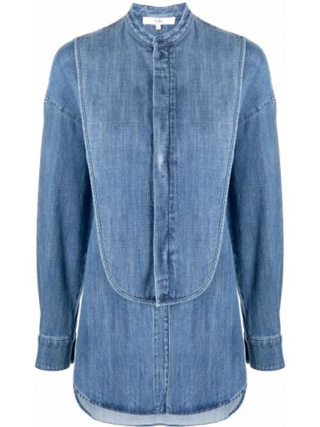 Niebieska koszula bawełniana Tibi