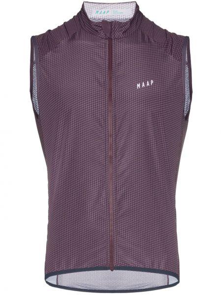 Фиолетовый спортивный костюм на молнии Maap