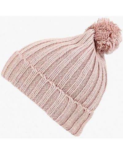 Розовая шапка осенняя Sela
