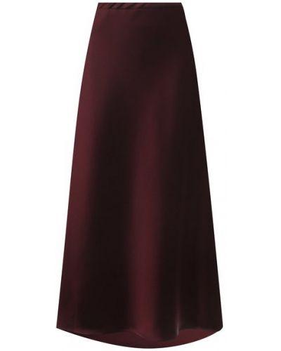 Красная юбка миди Escada