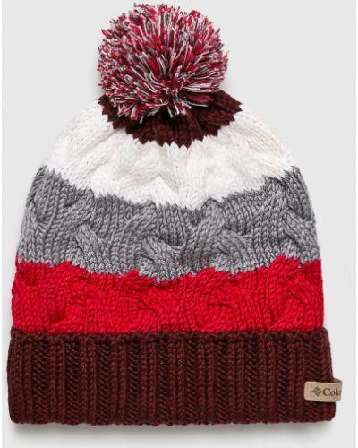 Зимняя шапка с помпоном с отворотом Columbia